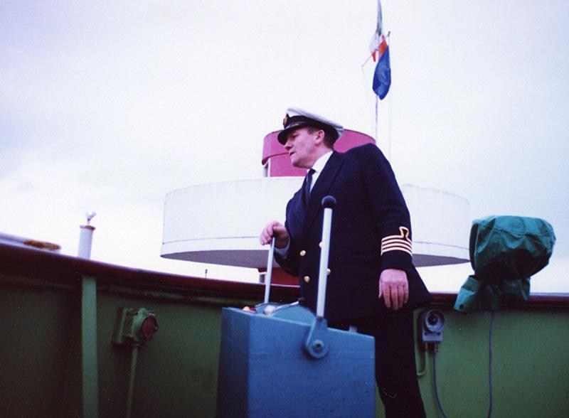 Captain Neville Lester