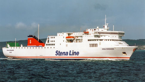 Holyhead arrival for the Stena Forwarder © Gary Davies / Maritime Photographic