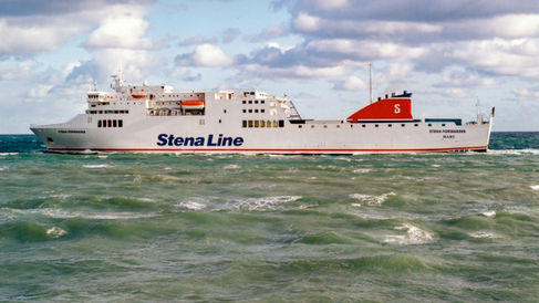 Stena Forwarder © Gary Davies / Maritime Photographic