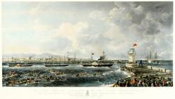 Kingstown Harbour August 1848