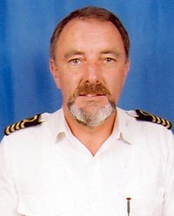 Captain Chris Clowes