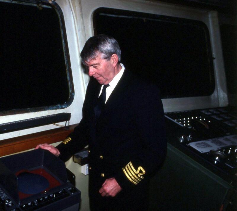 Captain Glynne Pritchard