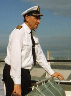 Captain Trevor Salmon