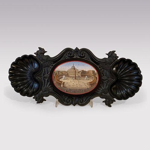 Mid 18th Century Micromosaic Plaque