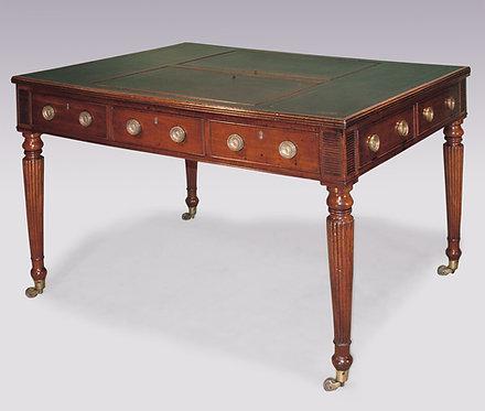 Regency Period Mahogany Writing Table