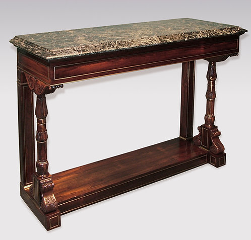 Fine Regency Period Rosewood Console Table