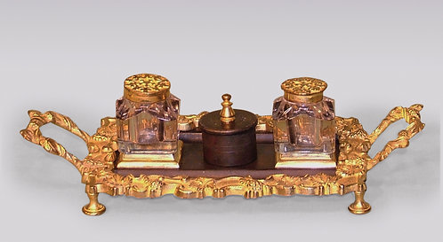Mid-19th Century Regency Period Bronze and Ormolu Pentray