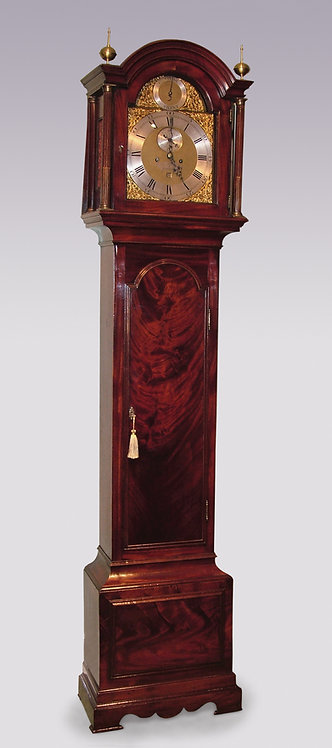Late 18th Century Mahogany Long Case Clock, by B. Francis of Gravesend