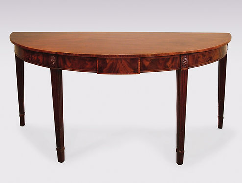 Antique 18th Century Mahogany Console or Serving Table