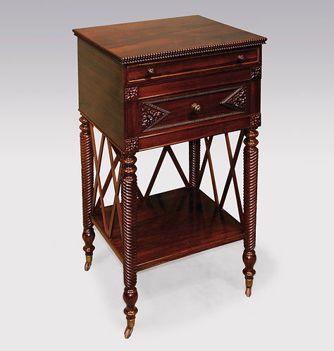 Regency Period Rosewood Occasional Table