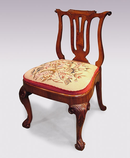Mid-18th Century Chinese Huanghuali Wood Side Chair