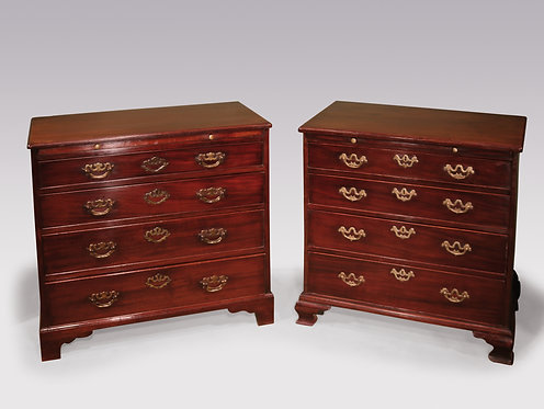 Two Similar 18th Century Chests