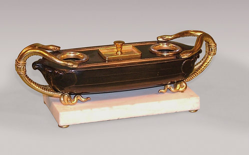 19th Century French Bronze and Ormolu Pentray.