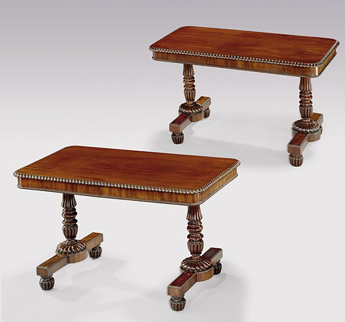 Rare Pair of 19th Century Mahogany Gillows Writing Tables SOLD