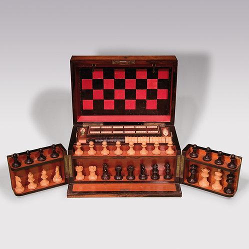 19th Century Walnut Games Compendium.