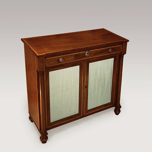 An Early 19th Century Regency Period Mahogany Two Door Cabinet