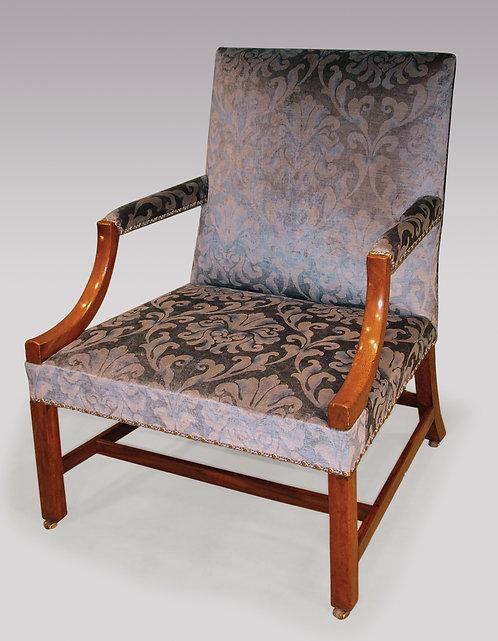 Mid-18th Century Mahogany Gainsborough Armchair