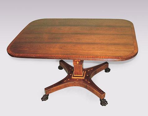 Antique Regency Period Rosewood Breakfast Table
