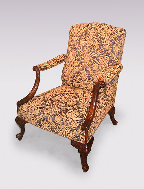 Chippendale Style Gainsborough Armchair