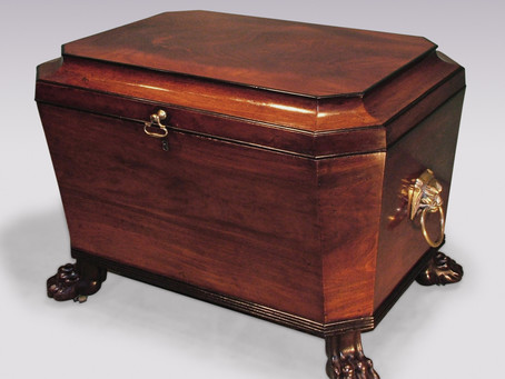 A GUIDE TO THE ANTIQUE WINE COOLER OR CELLARET