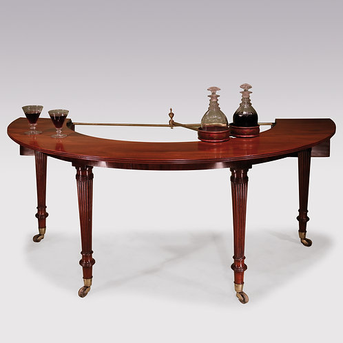 Regency Gillows Horse Shoe or Wine Table