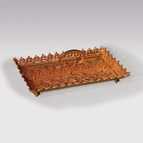 19th century ormolu pen tray