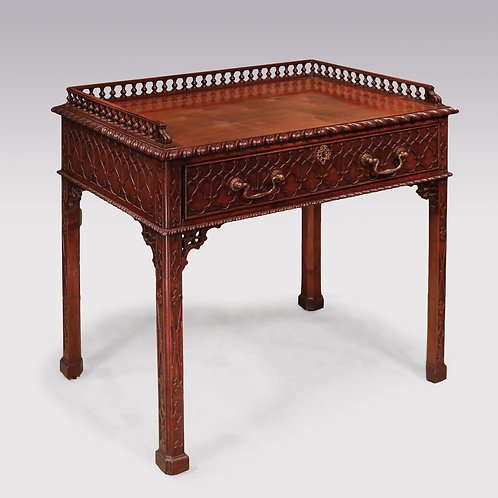18th Century Chippendale mahogany Side Table SOLD