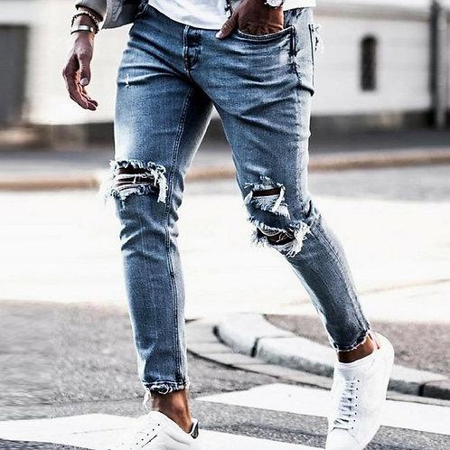 Men Skinny Ripped Jeans
