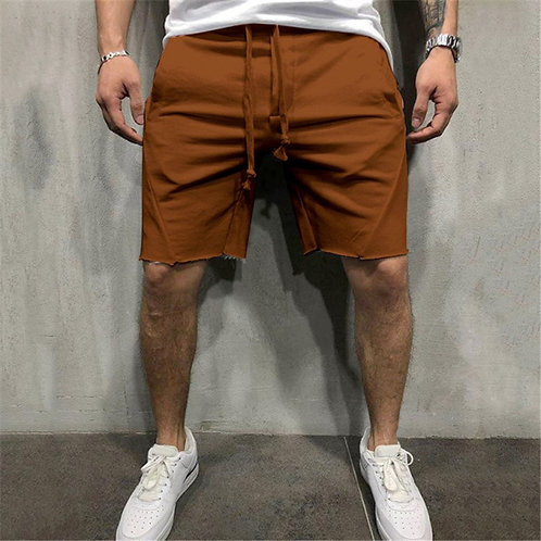 Men Cotton Shorts  Loose Trousers
