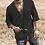Thumbnail: Summer Men's Shirt Casual Patchwork Short Sleeve