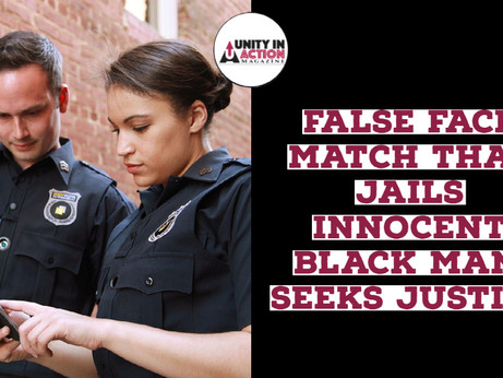 Innocent Black Man Nijeer Parks Sent to Jail on a False Facial Recognition Match is Seeking Justice.