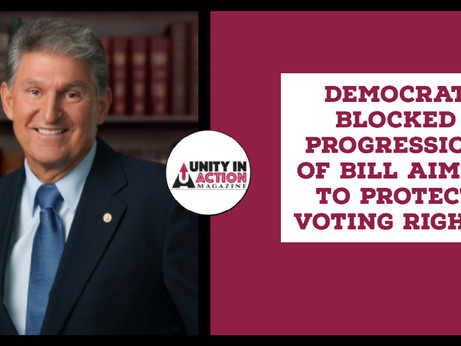 Democrat Blocked Progression Of Bill Aimed To Protect Voting Rights