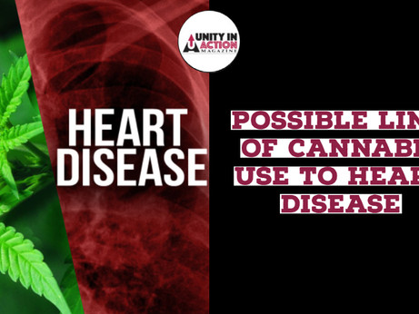Recent Study Suggests Cannabis Use at Young Age Can Potentially be Linked to Heart Disease
