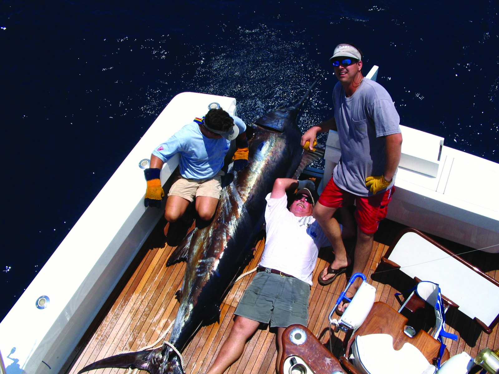 Frank With Big Blue Marlin (2)