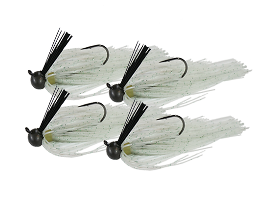RIG-A-JIG Mini Pack: Neon Shad (4 Pack)