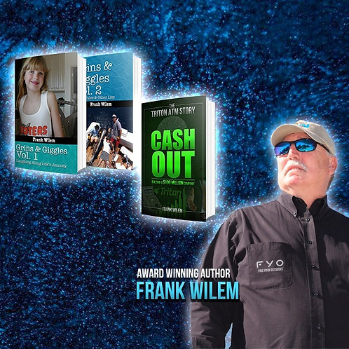 FRANK'S LATEST 3 BOOK BUNDLE