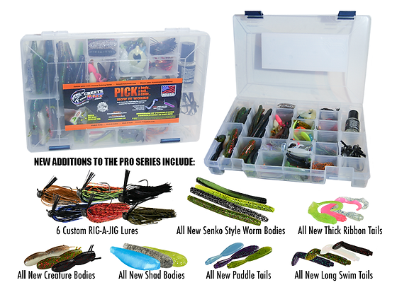 Create Your Bait PRO SERIES Kit
