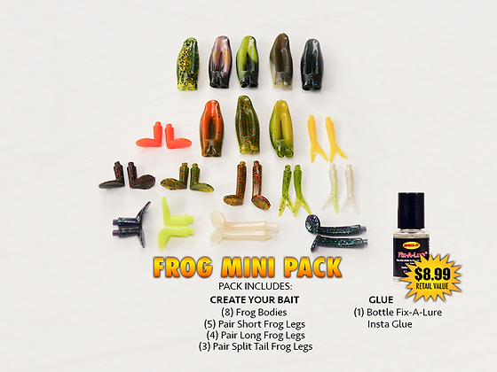 Create Your Bait FROG Mini Pack