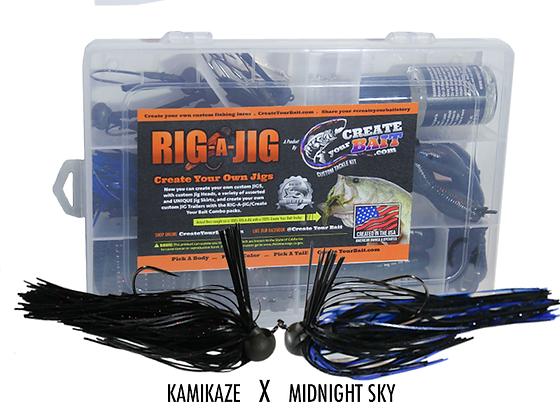 RIG-A-JIG Mini Combo Kit_Midnight Sky X Kamikaze