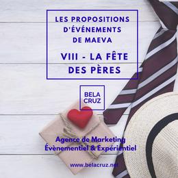 LES PROPOSITIONS D'ÉVÉNEMENTS DE MAEVA