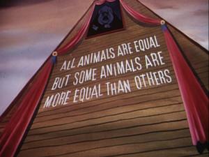 Unos son más iguales que otros
