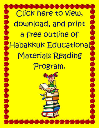 Habakkuk Educational Materials Reading Program