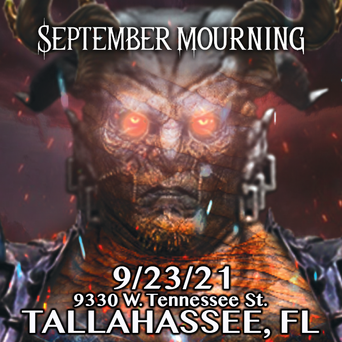 September Mourning in Tallahassee, Fl at The Warrior