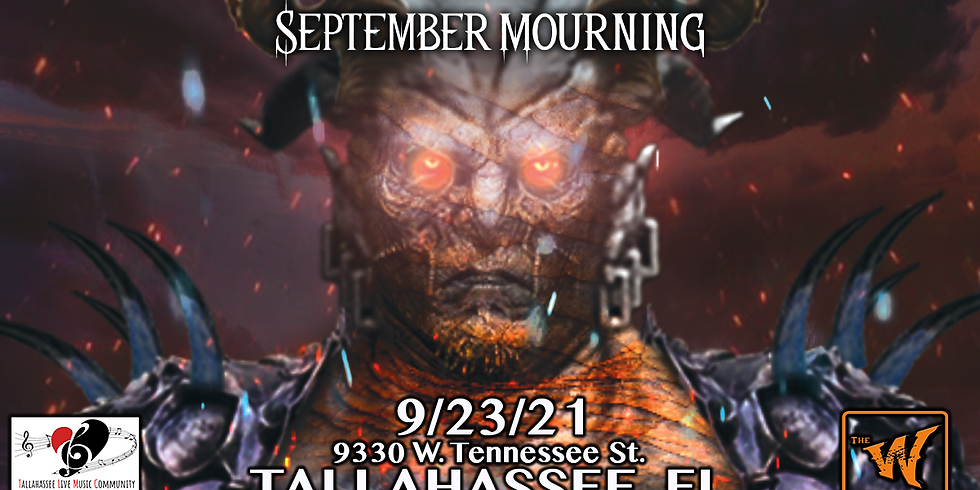 September Mourning / Northy / Falls Chase  in Tallahassee, Fl at The Warrior