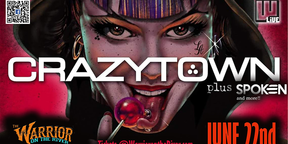 Crazy Town 20 Year Anniversary Tour w/ Spoken and more!