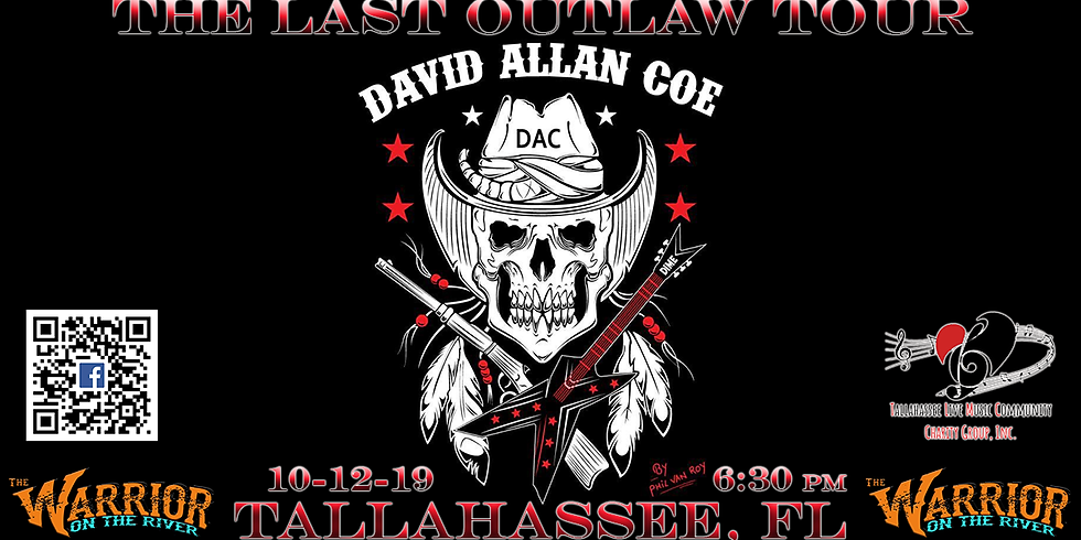 """""""The LAST Outlaw Tour"""" David Allan Coe at The Warrior"""