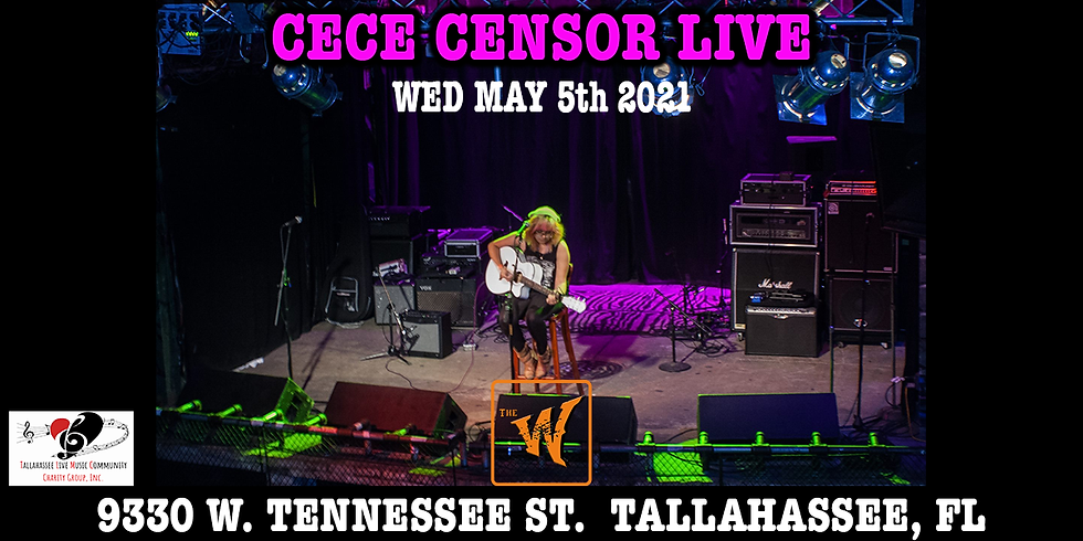 Cece Censor live at The Warrior on the River