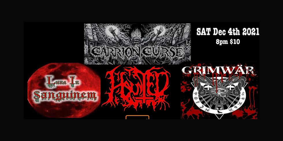 Haunted // Carrion Curse // Luna In Sanguinem // GrimWar // Scold