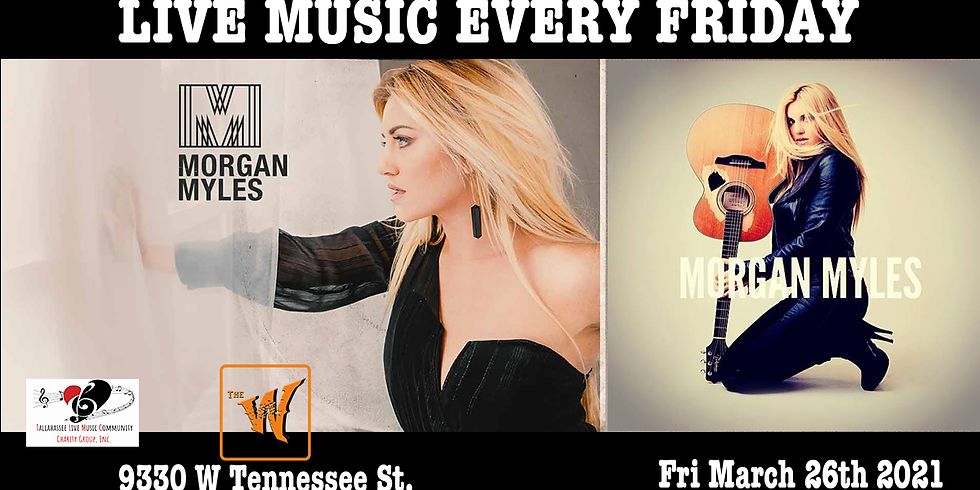 Morgan Myles comes to the old Riverfront Saloon now Called the Warrior on the River!