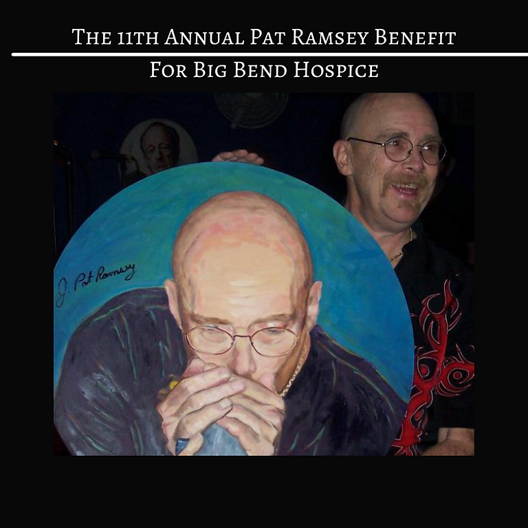 11th Annual Pat Ramsey Benefit for Big Bend Hospice 20+ Bands on 3 Stages